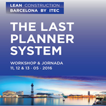 Lean Barcelona 2016: The Last Planner System